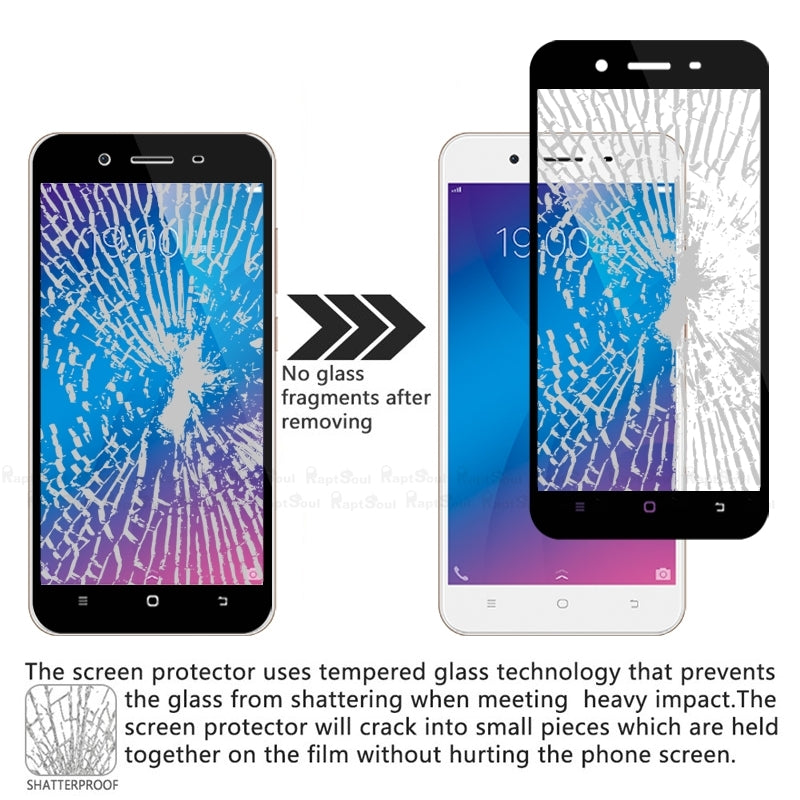 vivo full covered tempered glass in pakistan