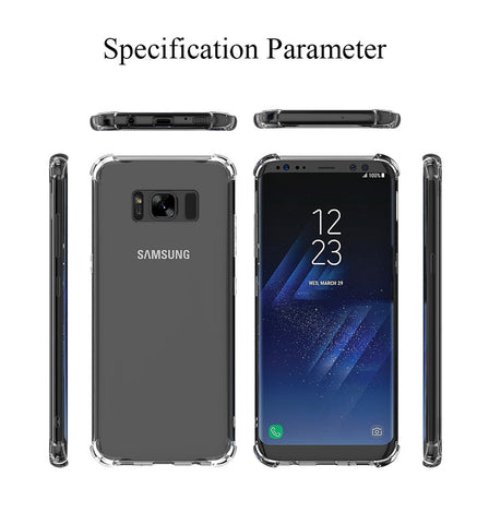 S8 and S8Plus antiknock cover from all angles
