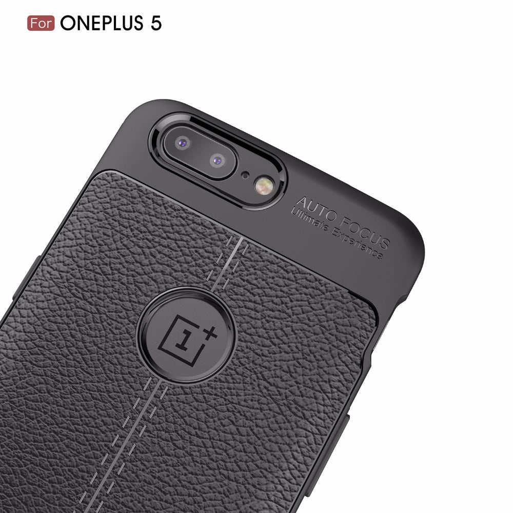 CARBON LEATHER TPU PROTECTIVE CASE oneplus 5