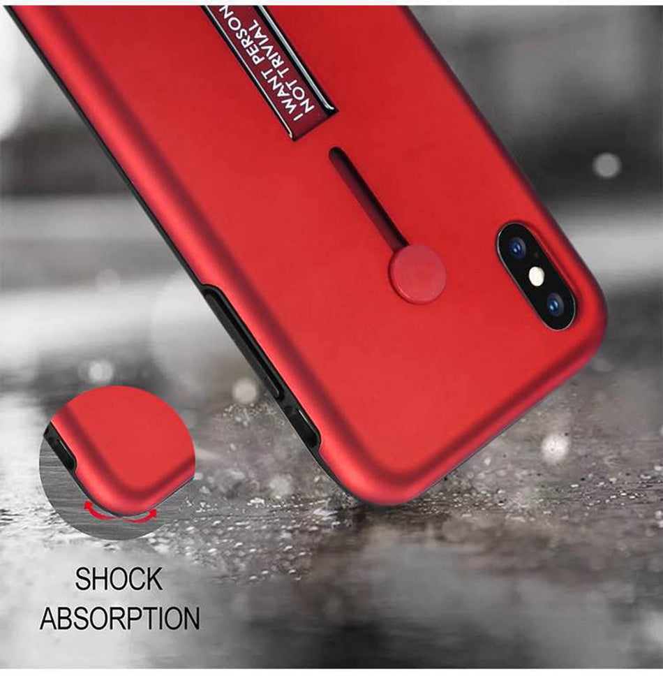 iphone x shock proof  red buy in pakistan