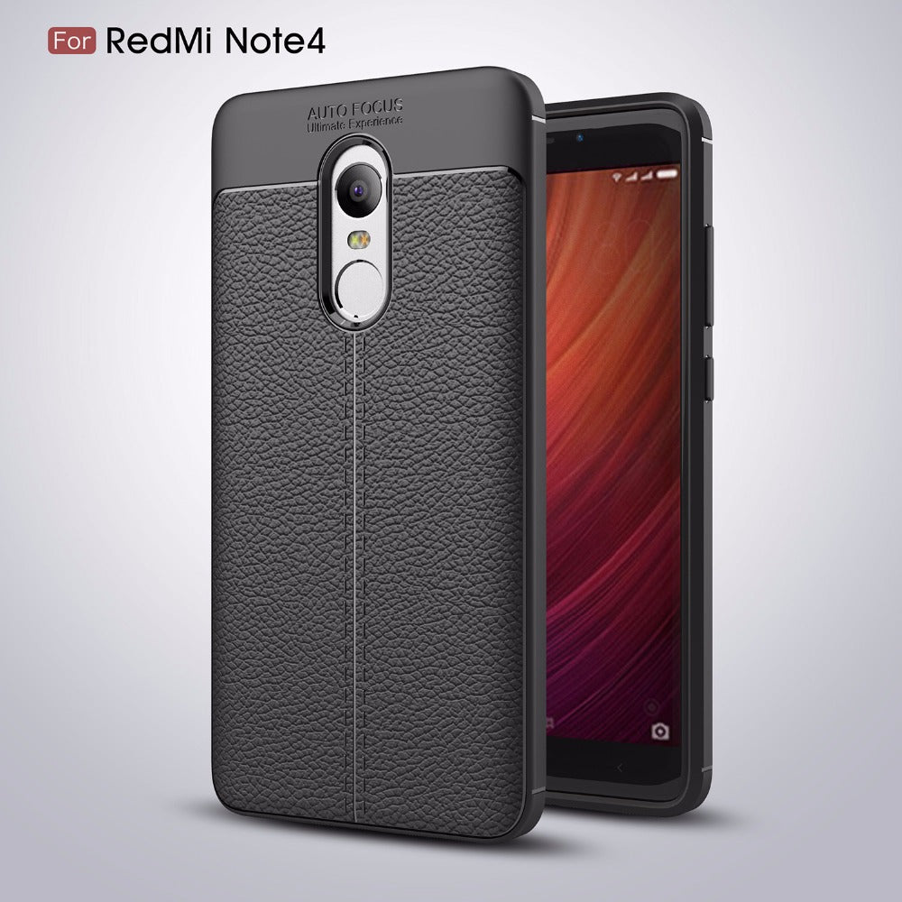 xiaomi redmi leather feel case noted 4