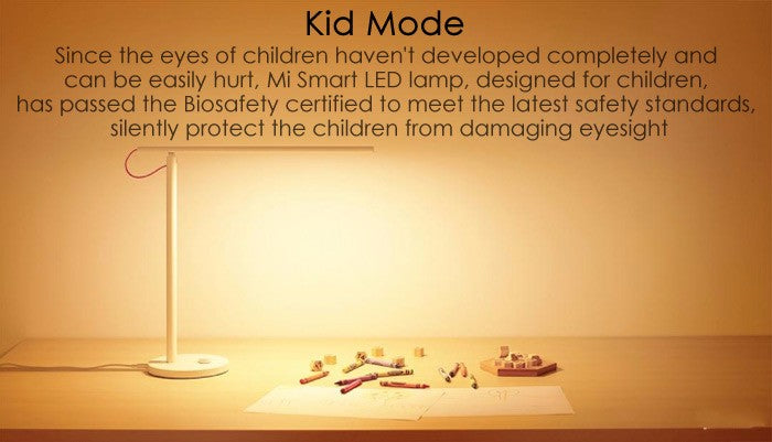 Original Xiaomi Mijia LED Desk Lamp Smart Table Lamps kid mode