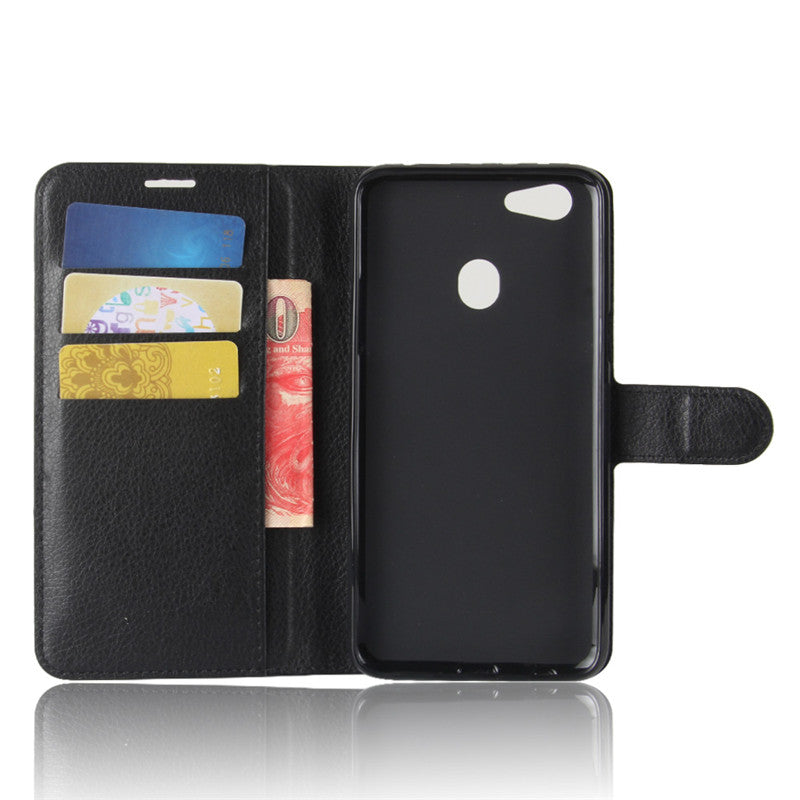 oppo F5 Leather wallet case