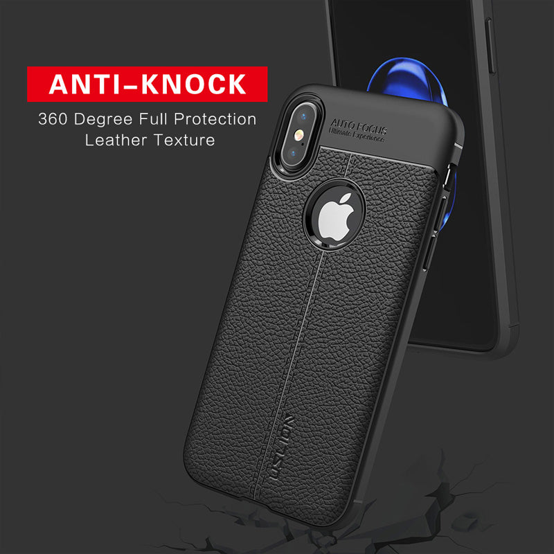 iphone X leather tpu case in islamabad
