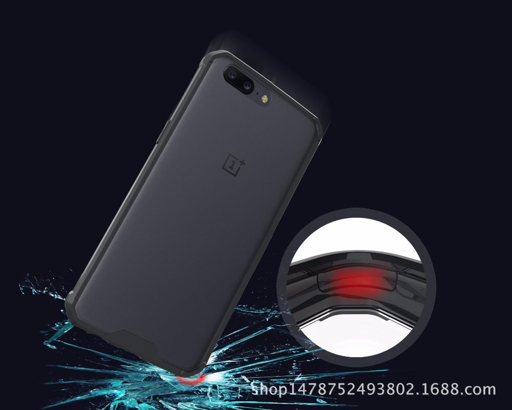 HYBRID SHOCKPROOF CASE  in black FOR ONEPLUS 5