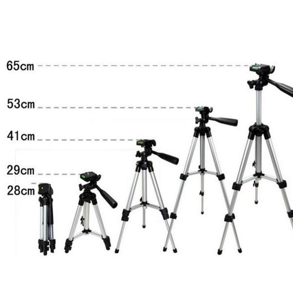size of mobile tripod
