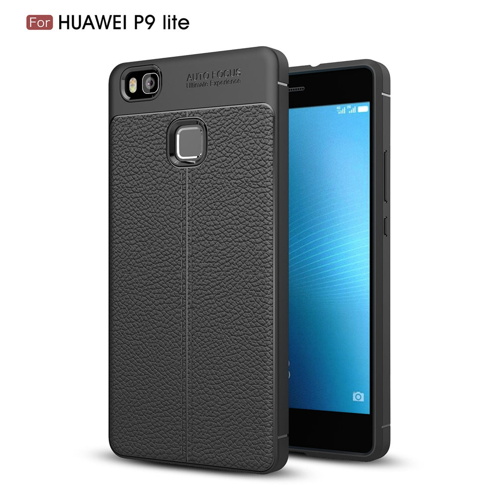 leather tpu case huawei  p9 lite