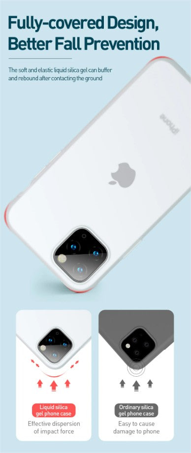 Baseus Liquid Silicone Case For iPhone 11 Pro Max