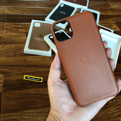 iPhone Official Leather Case