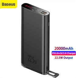 Baseus Power Bank 20000mAh 22.5W 3.0 Fast Charging PPXC-01