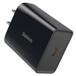 BASEUS Travel Charger Speed Mini PD Single Type-C Quick Charger 18W CN