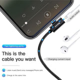 Baseus 4 in 1 Fast Charging+Audio+Call Function+1 Meter Cable for iPhone