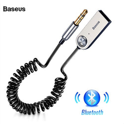 Baseus USB Bluetooth Adapter Dongle Cable For Car 3.5mm Jack Aux Bluetooth 5.0 Speakers audio transmitter