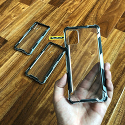 Gorilla Bumper Hybrid Shock Proof 100% Crystal clear Case for Realme