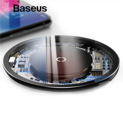 Baseus 10W Qi Fast Wireless Charger for Supported Phones - Phonecase.PK