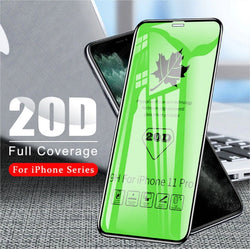 iPhone 11 Series 20D Edge to Edge Covered Tempered Glass Protector