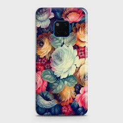 Huawei Mate 20 Pro Vintage colorful Flowers Phone Case - Phonecase.PK