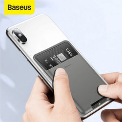 Baseus Universal Phone Back Wallet Card Slots