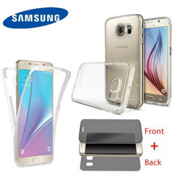 360 Front Back cover TPU for Samsung Galaxy All Models - Phonecase.PK