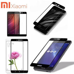 3D Edge to Edge covered Tempered Glass Xiaomi Redmi All Models - Phonecase.PK