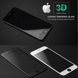 3D Tempered Glass Protector for All iPhone Series - Phonecase.PK