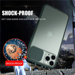 Camera Lens Slide Protection Case for iPhone
