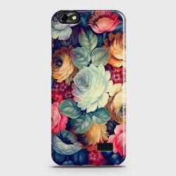 Huawei Honor 4C Vintage colorful Flowers Phone Case - Phonecase.PK