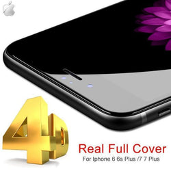4D TEMPERED GLASS PROTECTOR for All iPhone Series - Phonecase.PK