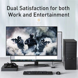 Baseus 4K HDMI Switcher Two-way Switch Digital Light Display 1-in-2 or 2-in-1 Dual Modes Audio Video Switching HDMI Switcher