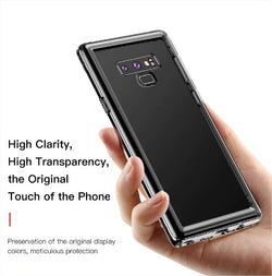 Galaxy Note 9 Carbon Leather TPU Protective Case
