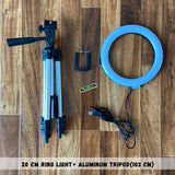 20 cm Ring Light with Tripods Combo (Save Big)