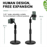 Desk Mount Stand Mobile Holder/Stand with Adjustable Height