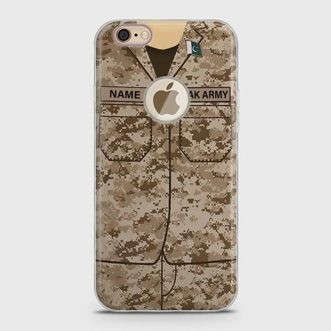 iPhone 6Plus/6sPlus Army shirt with Custom Name Case