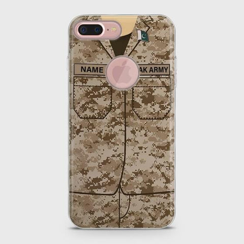iPhone 7plus Army shirt with Custom Name Case
