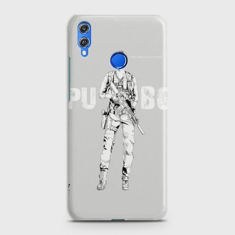 Huawei Honor 8C PUBG Lady Warrior Phone Case - Phonecase.PK