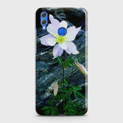 Huawei Honor 8C White Flower Phone Case - Phonecase.PK