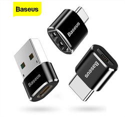 Baseus USB To Type C OTG Adapter USB USB-C Male To Micro USB Type-c Female Converter For Macbook & phone OTG Connector