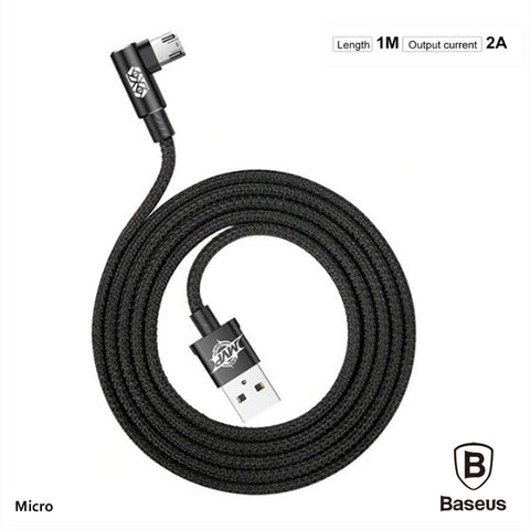 Micro/Android Baseus MVP Fast Charging gaming Cable 90 Degree