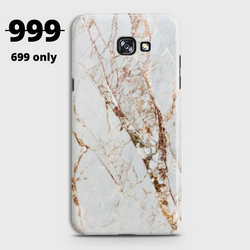 SAMSUNG GALAXY J4 PLUS (2018) White & Gold Marble Case