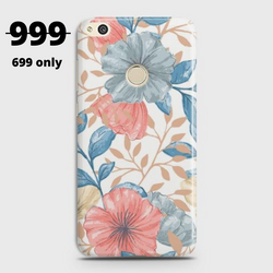 HUAWEI HONOR 8 LITE Seamless Flower Case