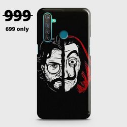 REALME 5i MONEY HEIST PROFESSOR Case