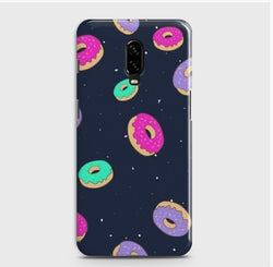 ONEPLUS 6T Colorful Donuts Case