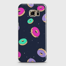 SAMSUNG GALAXY S6 Edge Plus Colorful Donuts Case