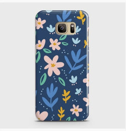 SAMSUNG GALAXY S7 Edge Colorful Flowers Case