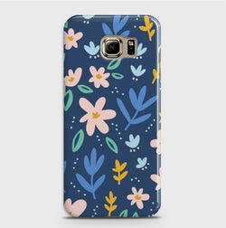 SAMSUNG GALAXY S6 Edge Plus Colorful Flowers Case
