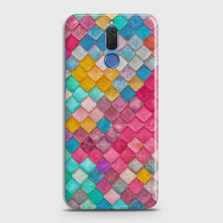 HUAWEI MATE 10 LITE Colorful Mermaid Scales Case