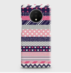 ONEPLUS 7T Colourful Circles Case
