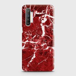 REALME XT Deep Red Marble Case