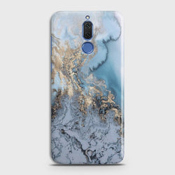 HUAWEI MATE 10 LITE Golden Blue Marble Case