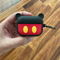 Airpods Pro Micky Mouse Shock proof Case with holding clip